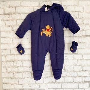 Disney Winnie the Pooh One Piece Baby Jacket 12M